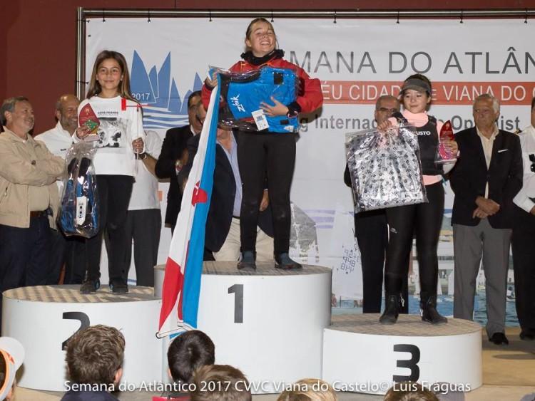 Algarvia Mariana Martins no 2º lugar do pódio Infantis Feminino (®LuisFraguas/CVVC)