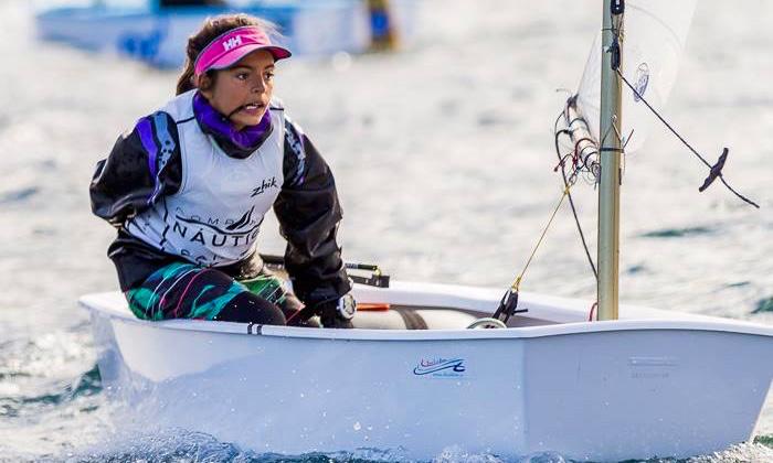 Beatriz Cintra fez 5º lugar, 2º Feminino em Vigo, na imagem. Melhor que a algarvia na divisão feminina só a campeã do mundo (®LuisFraguas/CVVC)