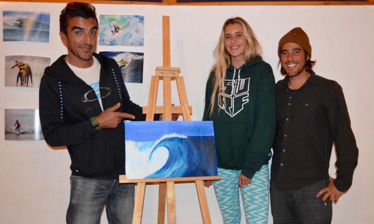 Marco Perini, à esquerda, com Concha Balsemão e João Cabrita Silva (®PauloMarcelino)
