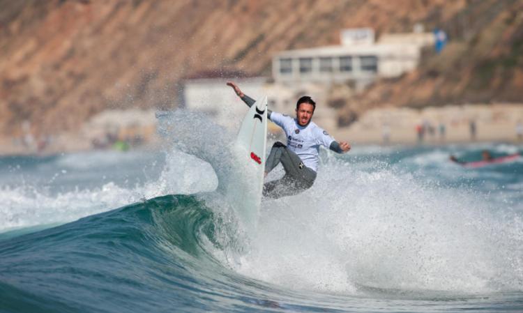 Francisco Duarte estreou-se em Netanya com 65º lugar (®LaurentMasurel/WSL)
