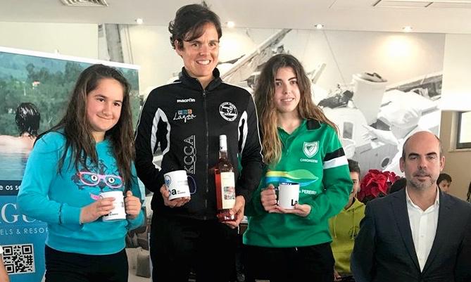Ana Bebiano, do clube organizador Kayak Clube Castores do Arade, obteve a vitória absoluta na divisão feminina (®KCCA)